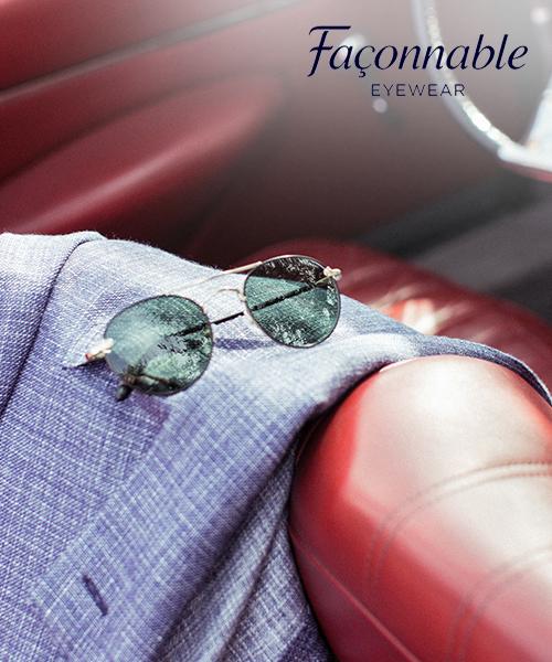 57b03a2d8fee4b Fijne Franse Façonnable zonnebrillen